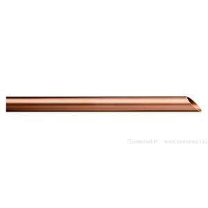Труба медная неоттоженная Ф18 х 1,0мм.  KME (5м)