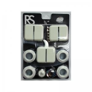 Универсальный комплект пробок для радиаторов Sira RS 1